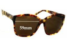 Sunglass Fix Sunglass Replacement Lenses for House Of Harlow Jordana - 59mm Wide