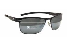 Sunglass Fix Sunglass Replacement Lenses for IC! Berlin Stadmitte - 54mm Wide x 34mm Tall