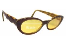 Sunglass Fix Sunglass Replacement Lenses for Jean Lafont Elite 272 - 51mm Wide