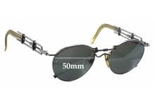 Sunglass Fix Sunglass Replacement Lenses for Jean Paul Gaultier 56-0174 - 50mm Wide