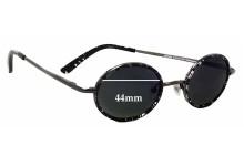 Sunglass Fix Sunglass Replacement Lenses for Joseph Marc 4058 - 44mm Wide
