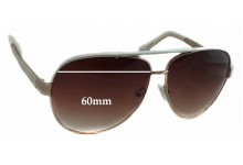 Sunglass Fix Sunglass Replacement Lenses for Juicy Couture Regal/S - 60mm Wide