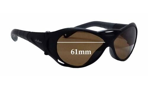 Sunglass Fix Sunglass Replacement Lenses for Julbo Explorer - 61mm Wide