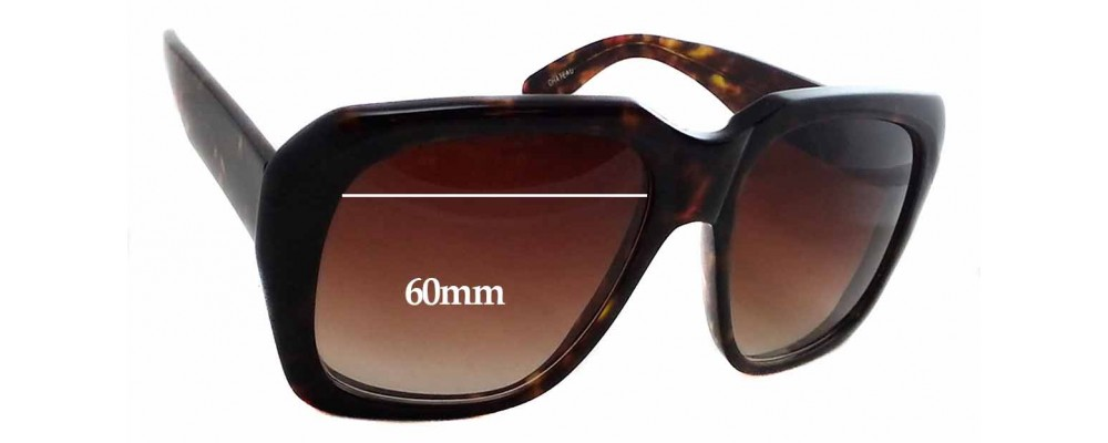 af8caefc78e Sunglass Fix Sunglass Replacement Lenses for Kala Chateau - 60mm Wide