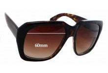 Sunglass Fix Sunglass Replacement Lenses for Kala Chateau - 60mm Wide