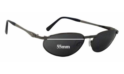 Sunglass Fix Sunglass Replacement Lenses for Killer Loop K0801 Treacherous - 55mm Wide