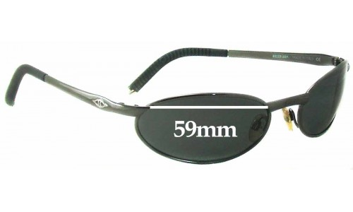 Sunglass Fix Sunglass Replacement Lenses for Killer Loop KL0501 Ricochet - 59mm Wide
