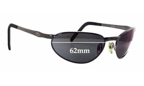 Sunglass Fix Sunglass Replacement Lenses for Killer Loop K0531 Pandemania - 62mm Wide