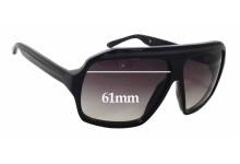 Sunglass Fix Sunglass Replacement Lenses for Ksubi Old - 61mm Wide x 47mm Tall