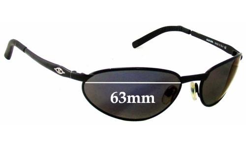 Sunglass Fix Sunglass Replacement Lenses for Killer Loop K0530 Pandemania - 63mm Wide