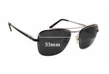 Sunglass Fix Sunglass Replacement Lenses for Linda Farrow LUXE - 53mm Wide x 43mm Tall
