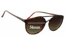 Sunglass Fix Sunglass Replacement Lenses for Liz Claiborne - 54mm Wide