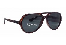 Sunglass Fix Sunglass Replacement Lenses for Local Supply Airport - 57mm Wide