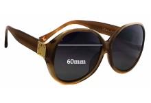 Sunglass Fix Sunglass Replacement Lenses for Louis Vuitton Z0283E - 60mm Wide