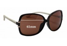 Sunglass Fix Sunglass Replacement Lenses for Marc by Marc Jacobs MMJ 236/F/S - 61mm Wide