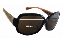 Sunglass Fix Sunglass Replacement Lenses for Marc by Marc Jacobs MMJ 237/F/S - 60mm Wide - 48mm Tall
