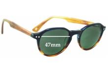 Sunglass Fix Sunglass Replacement Lenses for Marcs M501 - 47mm Wide