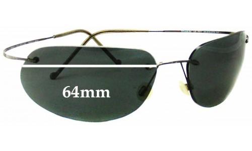 Sunglass Fix Sunglass Replacement Lenses for Maui Jim MJ501 Ka'anapali - 64mm Wide