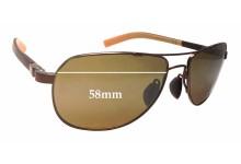 Sunglass Fix Sunglass Replacement Lenses for Maui Jim Guardrails MJ327 - 58mm Wide