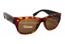 Sunglass Fix Sunglass Replacement Lenses for Maui Jim Kahoma MJ285 - 52mm Wide