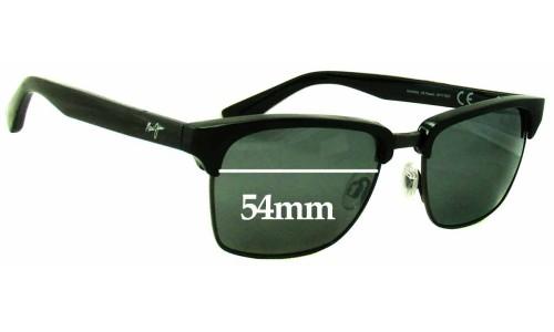 Sunglass Fix Sunglass Replacement Lenses for Maui Jim MJ257 Kawika - 54mm Wide