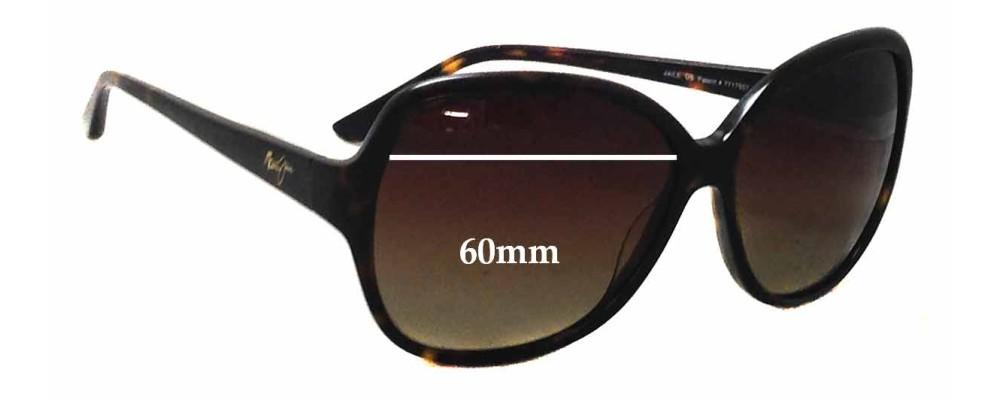 ba4c987799f47 Widest Maui Jim Sunglasses. Maui Jim MJ299 Kalena Replacement Sunglass  Lenses - 57mm Wide