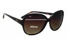 Sunglass Fix Sunglass Replacement Lenses for Maui Jim Maile MJ294 - 60mm Wide