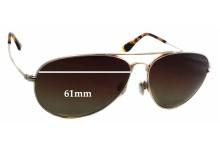 Sunglass Fix Sunglass Replacement Lenses for Maui Jim Mavericks MJ264 - 61mm Wide x 50mm Tall