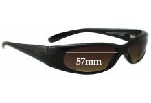 Sunglass Fix Sunglass Replacement Lenses for Maui Jim MJ108 Seafarer - 57mm Wide