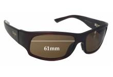 Sunglass Fix Sunglass Replacement Lenses for Maui Jim MJ222 Longboard - 61mm Wide