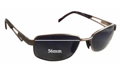 Sunglass Fix Sunglass Replacement Lenses for Maui Jim MJ227 - 56mm wide - 35mm tall