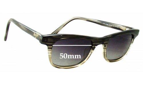 Sunglass Fix Sunglass Replacement Lenses for Maui Jim MJ241 Aloha Friday - 50mm Wide
