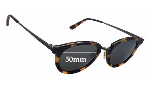 Sunglass Fix Sunglass Replacement Lenses for Maui Jim MJ2636 Kolohe - 50mm Wide