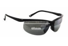 Sunglass Fix Sunglass Replacement Lenses for Maui Jim Sunset MJ402 - 68mm Wide