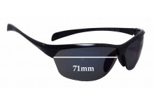 Sunglass Fix Sunglass Replacement Lenses for Maui Jim MJ426 Hot Sands - 71mm Wide