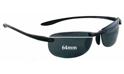 Sunglass Fix Sunglass Replacement Lenses for Maui Jim Sport Makaha RX MJ905 - 64mm Wide