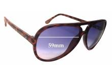 Sunglass Fix Sunglass Replacement Lenses for Michael Kors Brynn M2938S - 59mm Wide