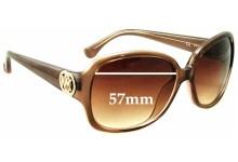 Sunglass Fix Sunglass Replacement Lenses for Michael Kors M2789S Harper - 57mm Wide