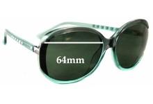 Sunglass Fix Sunglass Replacement Lenses for Michael Kors Kinsey M2908S - 64mm Wide