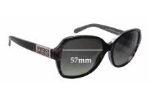 Sunglass Fix Sunglass Replacement Lenses for Michael Kors MK6013 - 57mm Wide