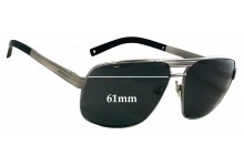Sunglass Fix Sunglass Replacement Lenses for Montblanc MB 322S - 61mm Wide