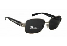 Sunglass Fix Sunglass Replacement Lenses for Moschino MO56001 - 58mm Wide