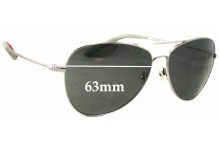 Sunglass Fix Sunglass Replacement Lenses for Mosley Tribes Colden MT2029-S - 63mm Wide