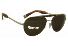 Sunglass Fix Sunglass Replacement Lenses for Mosley Tribes Crane MT2027-S - 56mm Wide
