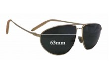 Sunglass Fix Sunglass Replacement Lenses for Mosley Tribes Legacy - 63mm Wide