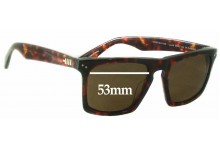 Sunglass Fix Sunglass Replacement Lenses for Mosley Tribes Lyndel MT6013-S - 53mm Wide