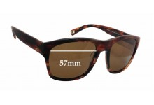 Sunglass Fix Sunglass Replacement Lenses for Mosley Tribes Carden MT6030-S - 57mm Wide x 45mm Tall