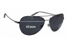 Sunglass Fix Sunglass Replacement Lenses for Mosley Tribes Raynes - 61mm Wide