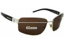 Sunglass Fix Sunglass Replacement Lenses for Montblanc MB 36S - 61mm Wide