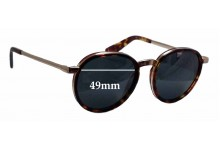 Sunglass Fix Sunglass Replacement Lenses for Nick Campbell Malcolm - 49mm Wide